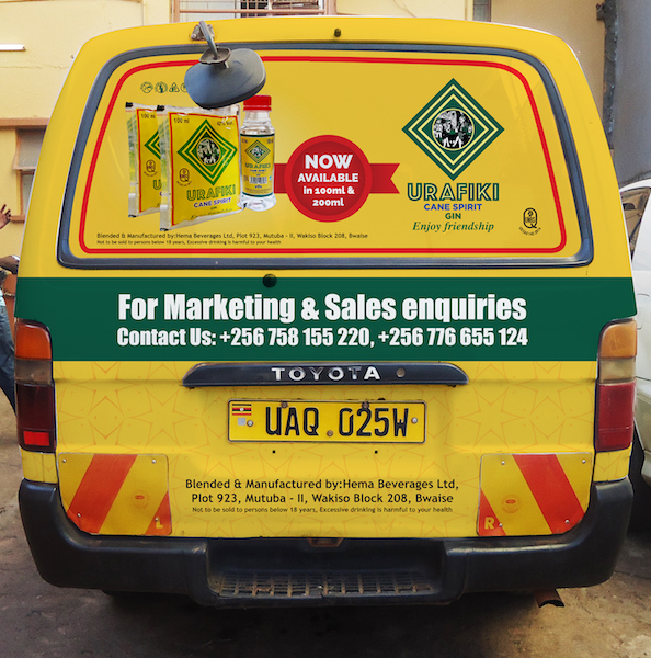 Vehicle Branding- Rear