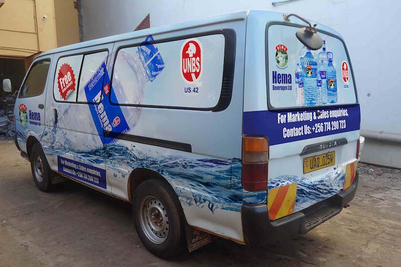 Vehicle Branding -Hema