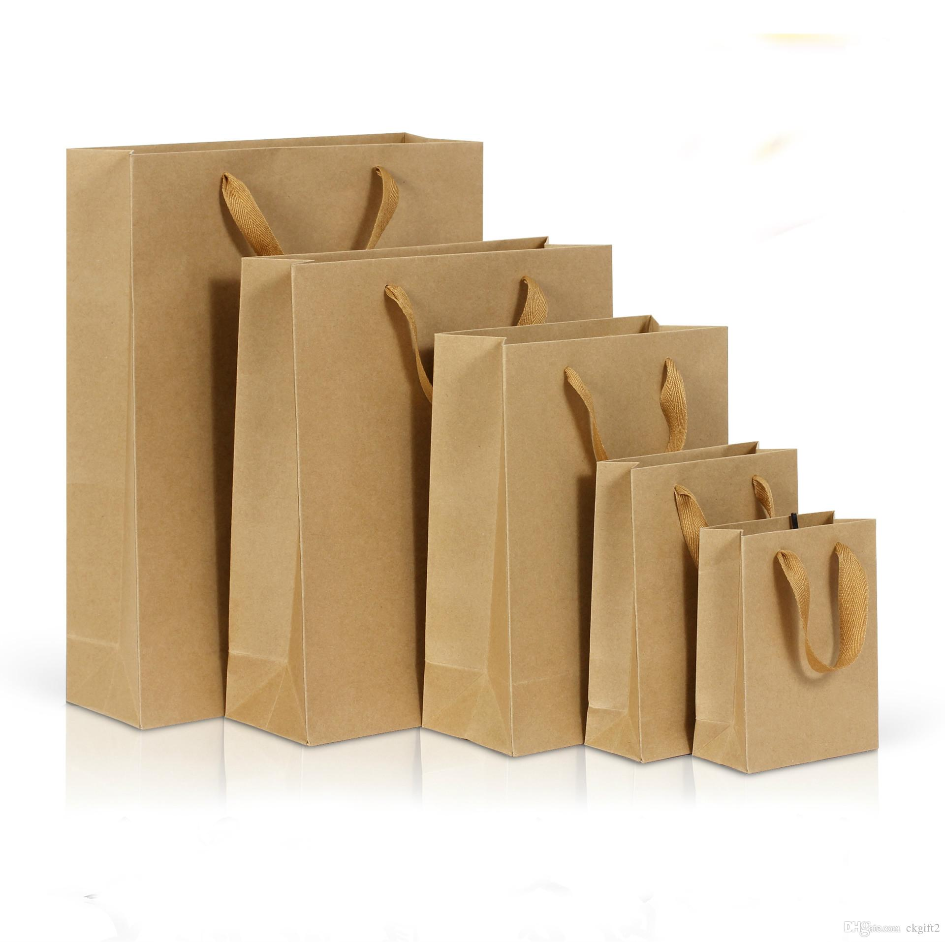 Kraft Paper Bags in all sizes
